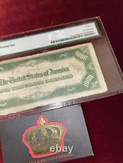 1000 Dollar Bill One Thousand Federal Reserve Note Atlanta Pmg 20 $ Frn