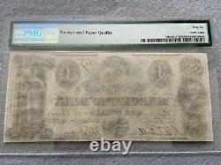 1852 Merchants' Bank, District of Columbia $1 One Dollar Bill PMG Certified