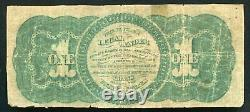 1862 $1 One Dollar Legal Tender United States Note (d)