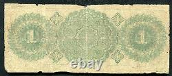 1864 $1 One Dollar The Oil City Bank Of Oil City, Pa Obsolete Banknote Rare