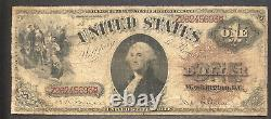 1880 One Dollar Bill $1 Large Size United States Note Better Grade #34879