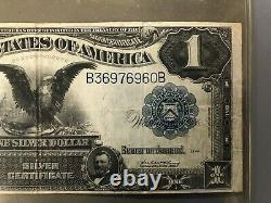 1899 Series $1 One Dollar Silver Certificate Large Size Currency Note Bill