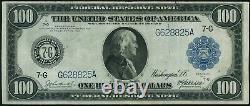 1914 $100 One Hundred Dollar Chicago Federal Reserve Note Fr#1108