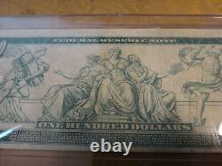 1914 US Federal Reserve Note One Hundred Dollars $100 Horse Blanket