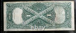 1917 $1.00 One Dollar Legal Tender United States Note Pmg 25 Very Fine Fr #39