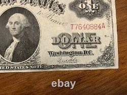 1917 $1 One Dollar US Note Legal Tender Large Size Note-Uncirculated Shape