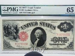 1917 One Dollar Note GEM 65 EPQ