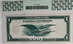 1918 $1 One DOLLAR Boston Federal Reserve Bank Note PCGS 62PPQ Fr. 710