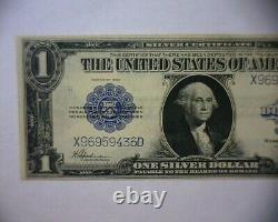 1923 $1 One Dollar Horse Blanket Silver Certificate Large Size Note Hi- Grade