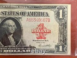 1923 $1 One Dollar Red Seal United States Large Note Higher Grade
