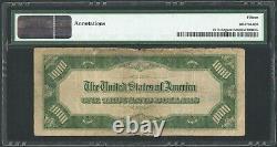 1934 $1000 One Thousand Dollar Atlanta FRN Note Fr#2211-Fdgsm Mule PMG F 15