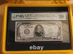 1934 ($1000) One Thousand Dollar Chicago (G) Federal Reserve Note PMG VF 30