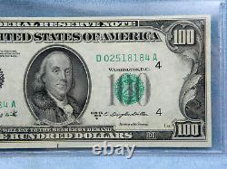 1950 C-CU $100 One Hundred Dollar Bill Federal Reserve Bank Note-Cleveland