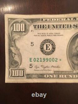 1977 Federal Reserve Star Note One Hundred Dollar Bill. $100