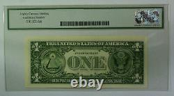 1985 $1 One Dollar FRN Federal Reserve Star Note Fr. 1913-H Legacy 64
