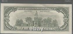 1985 (E) $100 One Hundred Dollar Bill Federal Reserve Note Richmond Old Currency