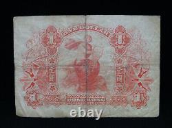 1st July 1913 $1 One Dollar Hong Kong Banknote HSBC Shanghai F Grade Hongkong