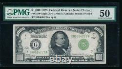 AC 1928 $1000 Chicago ONE THOUSAND DOLLAR BILL PMG 50 comment