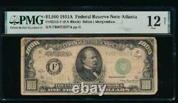 AC 1934A $1000 Atlanta ONE THOUSAND DOLLAR BILL PMG 12 NET