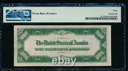 AC 1934A $1000 New York ONE THOUSAND DOLLAR BILL PMG 30 comment