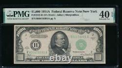 AC 1934A $1000 New York ONE THOUSAND DOLLAR BILL PMG 40 EPQ
