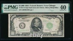 AC 1934 $1000 Chicago ONE THOUSAND DOLLAR BILL PMG 40 comment
