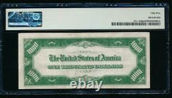 AC 1934 $1000 Chicago ONE THOUSAND DOLLAR BILL PMG 55