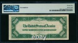 AC 1934 $1000 San Francisco LGS ONE THOUSAND DOLLAR BILL PMG 25 comment