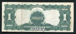 FR. 226a 1899 $1 ONE DOLLAR BLACK EAGLE SILVER CERTIFICATE CURRENCY NOTE VF+