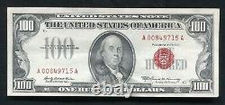 Fr. 1551 1966-a $100 One Hundred Dollars Legal Tender United States Note Au