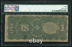 Fr. 18 1869 $1 One Dollar Rainbow Legal Tender United States Note Pmg Vg-8