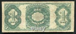 Fr. 223 1891 $1 One Dollar Martha Silver Certificate Currency Note Very Fine