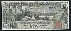 Fr. 224 1896 $1 One Dollar Educational Silver Certificate Currency Note Vf+
