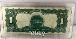 Fr. 232 1899 $1 One Dollar Large Size Black Eagle Silver Certificate Note