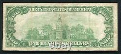 Fr. 2405 1928 $100 One Hundred Dollars Gold Certificate Note Very Fine