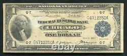 Fr. 727 1918 $1 One Dollar Frbn Federal Reserve Bank Note Chicago, IL Vf