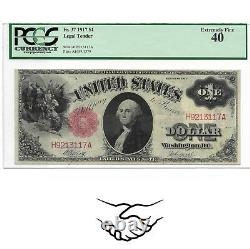 PCGS Certified 1917 United States One Dollar Note