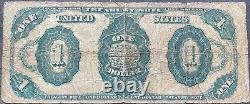 USA 1 Dollar 1891 Banknote Large Size US Treasury Note Schein $1 One #25296