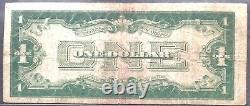 USA 1 Dollar 1928 United States Note Red Seal Selten Schein One Banknote #11896