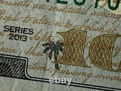 Us 100 dollar possible one of a kind error note