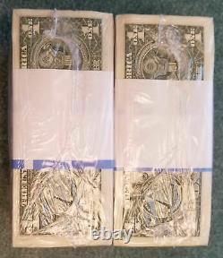 1000 Brand New Non Circulé $1 Un Dollar Bills Bep Brick (2017) Classique