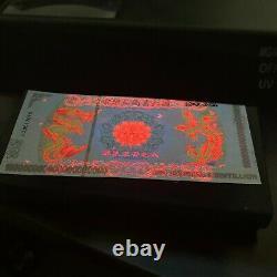 1000 Pcs Cent Quintillion Dollars Chinois Dragon Et Phoenix Banknote Box