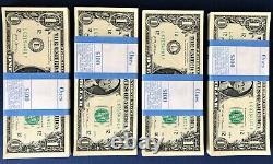 100 1 $ Bills Nouveau Dollar D'argent L/f Pack 2017 Encaisse Collectable Devise