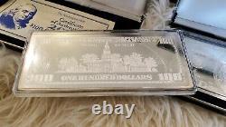 100 $ Un Cent Dollar Quarter Livre Billet D'argent. 999 Pures 4 Oz. Authentique