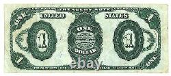 1891 $ Un Dollar Bill Red Seal Tresury Note Condition Excellente! Fr-351
