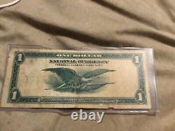 18 Mai 1914 Banque De Réserve Fédérale De Philadelfie Un Dollar Billet Sceau Bleu
