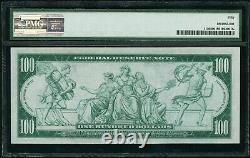 1914 100 $ Cent Dollars San Fransisco Federal Res. Note Pmg Au 50 Fr#1130