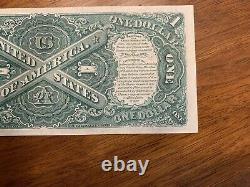 1917 $ 1 $ 1 Dollar Us Note Juridique Appel D'offres De Grande Taille Note De Forme Non Circulée