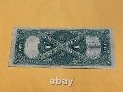 1917 $1 Grande Taille U.s. Legal Tender Note One Dollar