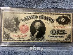 1917 Un Dollar Des États-unis Legal Tender Note Cir